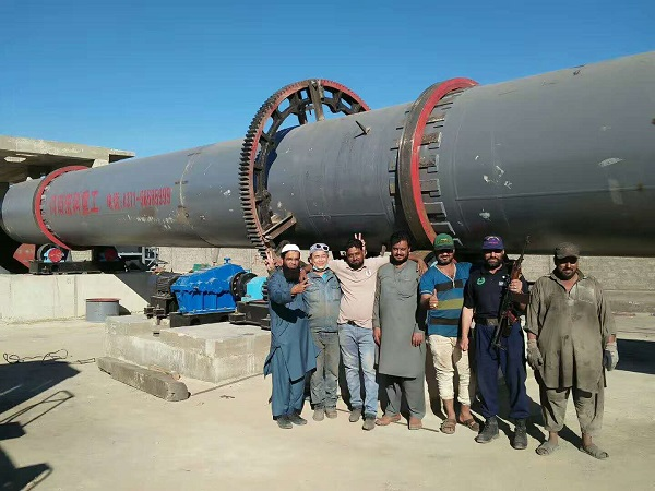 巴基斯坦氧化铁回转窑客户现场图片2.jpg