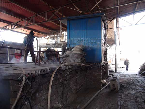陶粒砂回转窑设备图片