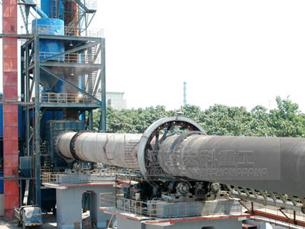 新型石灰窑生产线图片
