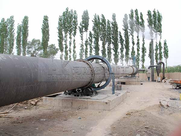 白灰窑生产线图片