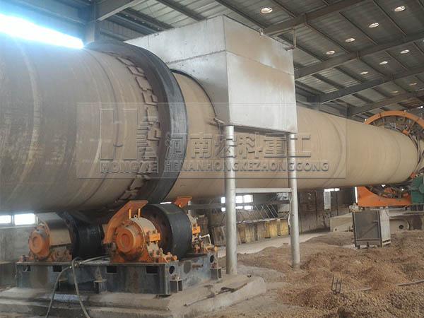 陶粒機械設備的生產現場