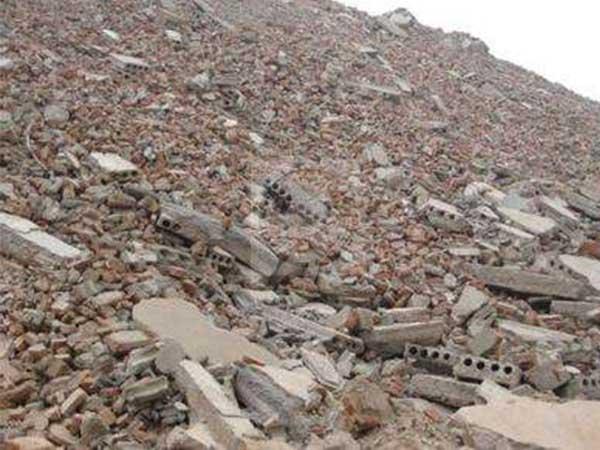 加强建筑垃圾综合利用的研究和开发